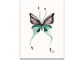 Watercolor Butterfly 12 by Kathy Morton Stanion
