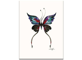 Watercolor Butterfly 13 by Kathy Morton Stanion