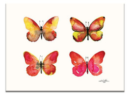Four Butterflies 3 by Kathy Morton Stanion