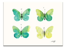 Four Butterflies 5 by Kathy Morton Stanion