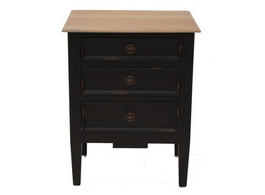 Hampton Bedside in Black