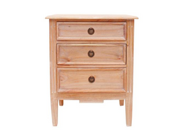 Hampton Bedside in Weathered Oak