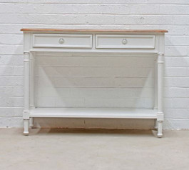 Marseille Console in White
