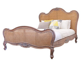 Parisian Bed in Weathered Oak