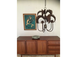 Palm Springs Chandelier in Russet