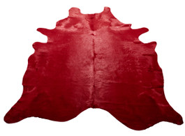 Cherry Cow Hide Rug
