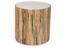 Bough Small Round Table  with Stone Top