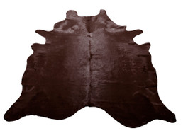 Chocolate Cow Hide Rug