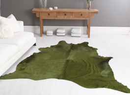 Palm Cow Hide Rug