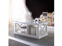 Maine Coffee Table in White