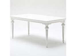 Provence Dining Table in White 200 cm