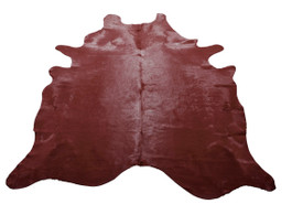 Chestnut Cow Hide Rug in Large