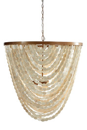 Pearl Oval Chandelier