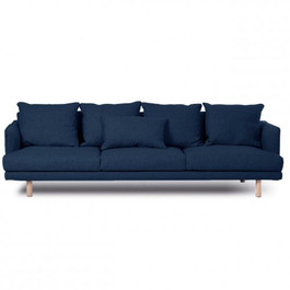 Cody Sofa In Navy Velvet