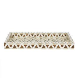 Taj Geo Bone Tray - Large