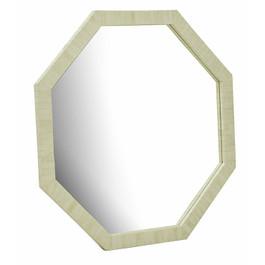 Taj Octagonal Bone Mirror