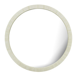 Taj Round Bone Mirror