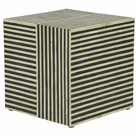 Taj Bone Cube Side Table