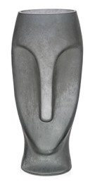 Face Vase in Charcoal