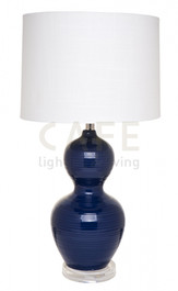 Bronte Table Lamp in Blue