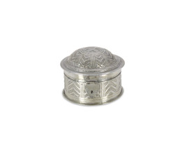 Marrakech Round Trinket Box