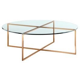 Elle Luxe Round Coffee Table