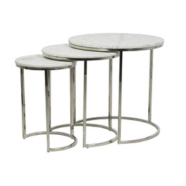 Elle Round Nest of Tables