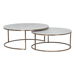 Elle Round Nest of  Coffee Tables