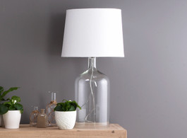 Bell Clear Glass Lamp