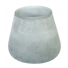 Forme Medium Vase in Frosted Grey