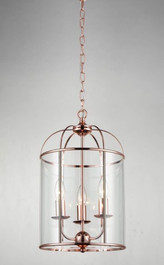 Upton Pendant Light in Rose Gold