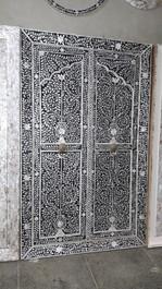 Mother of Pearl Inlay Doors in Black II