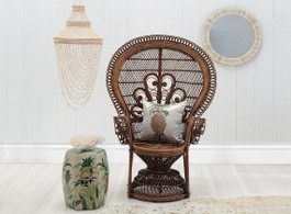 Singing Peacock Chair in Natural