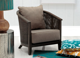 Ebony Baha Sofa  Lounge Chair