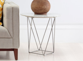 Como Marble Side Table