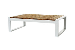 Cancun Ali Rustic Teak Coffee Table