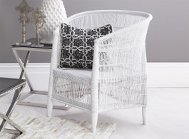 Malawi Chair in White
