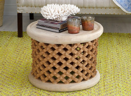 Bamileke Side Table in Natural