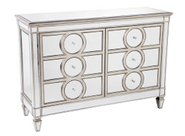 Jasper Buffet In Antique Silver