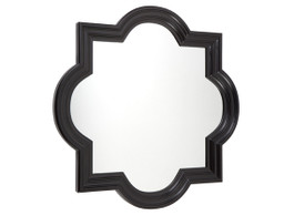 Large Marrakech Wall Mirror In Black