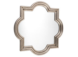 Large Marrakech Wall Mirror In Antique Silver
