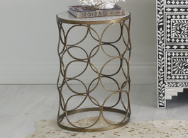 Azalia Marble Side Table