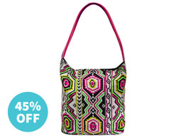 Aztec Brights Embellished Bag