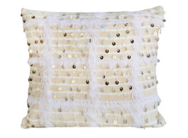 Moroccan Handira Sparkle Cushion in Large