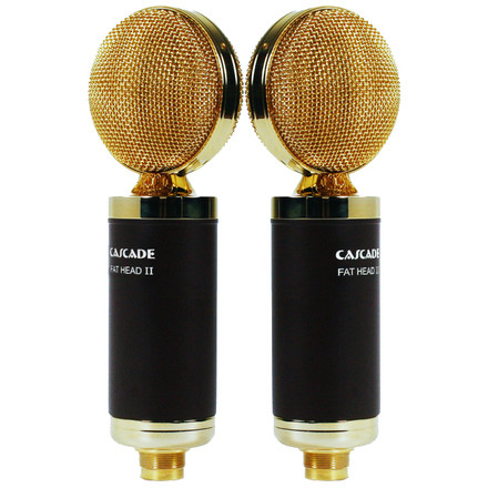 Fathead II Blumlein Pair (Brown/Gold)