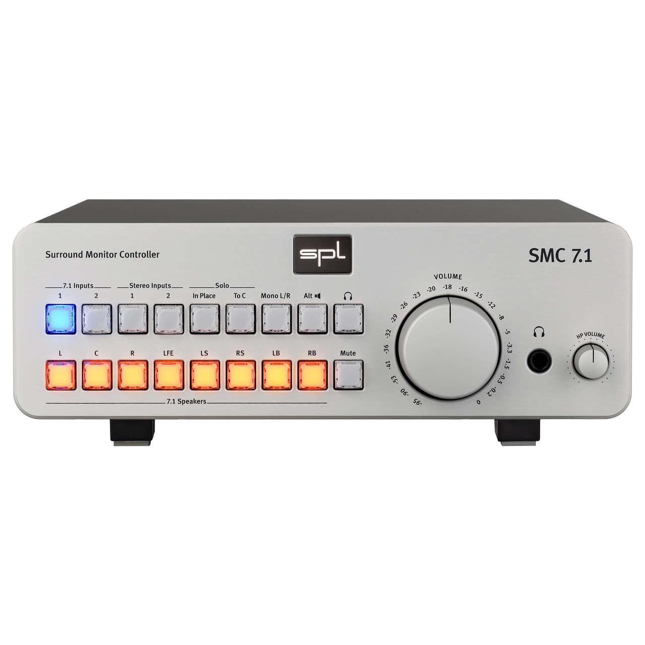 SMC 7.1 Silver (Front)
