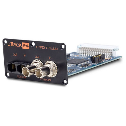 uTrack MADI Option Card (Angle)