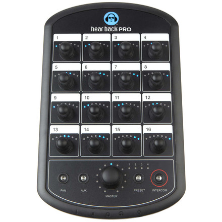 Hear Back PRO Mixer (Front)