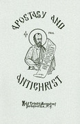 Apostasy and Antichrist