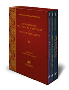 Commentary on the Holy Scriptures of the New Testament (Boxed Set)